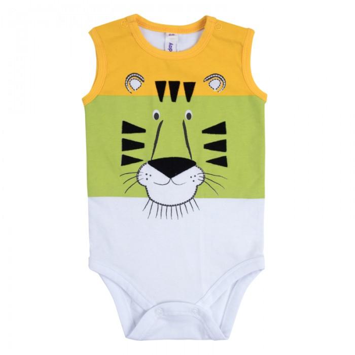 Боди и песочники Playtoday Боди для мальчиков Веселые джунгли 187869 одежда для детей