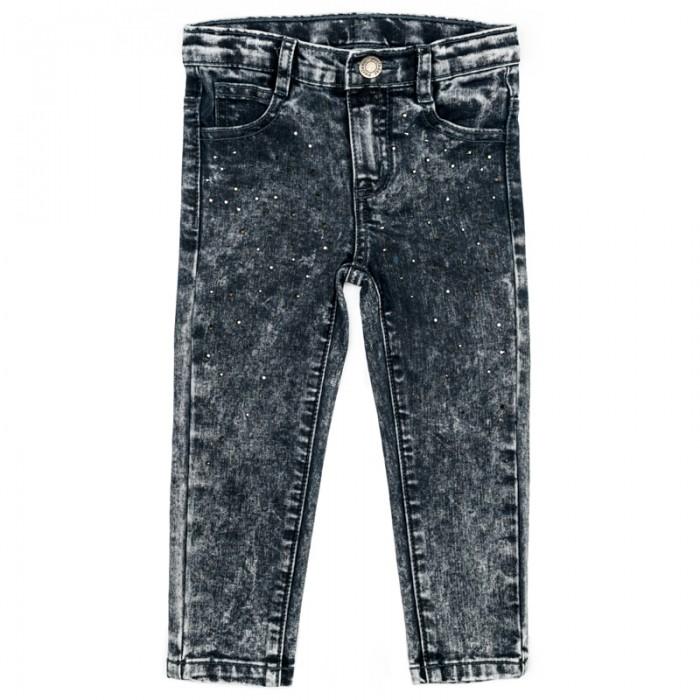Купить Брюки, джинсы и штанишки, Playtoday Брюки детские текстильные джинсовые для девочек Лучшие друзья 378011