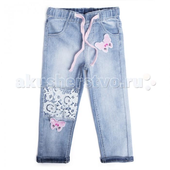 Детская одежда , Брюки, джинсы и штанишки Playtoday Брюки детские текстильные джинсовые для девочек Солнечная палитра 188053 арт: 455731 -  Брюки, джинсы и штанишки