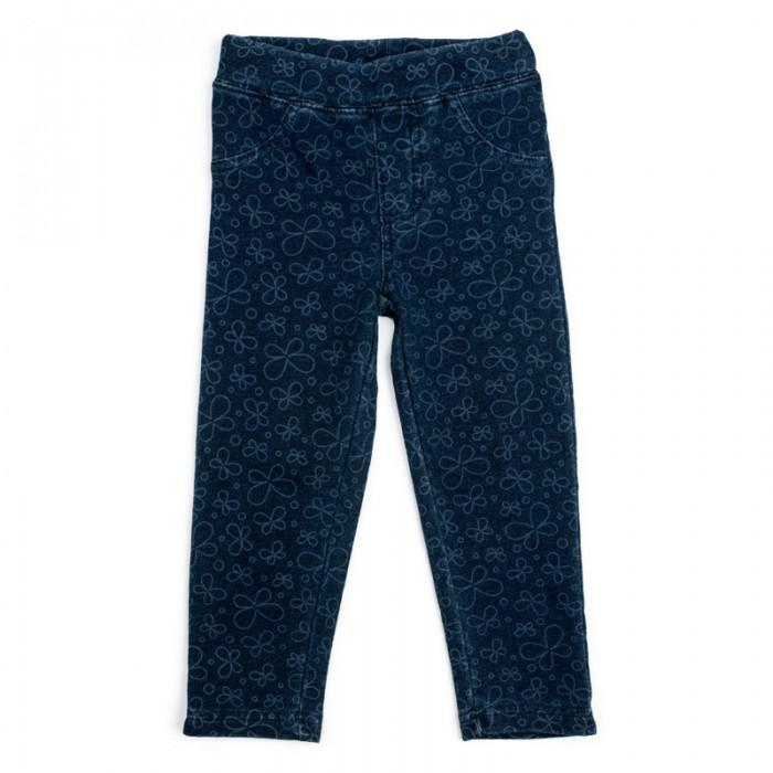 Брюки и джинсы Playtoday Брюки детские трикотажные для девочек (леггинсы) Солнечная палитра 188062