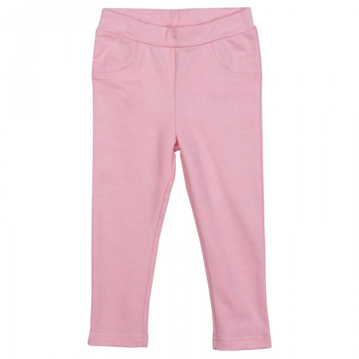 Брюки, джинсы и штанишки Playtoday Брюки детские трикотажные для девочек Морозные кружева 378060