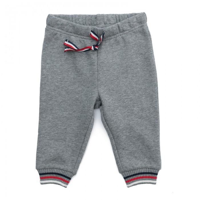 Брюки, джинсы и штанишки Playtoday Брюки детские трикотажные для мальчиков Лесные друзья 377822