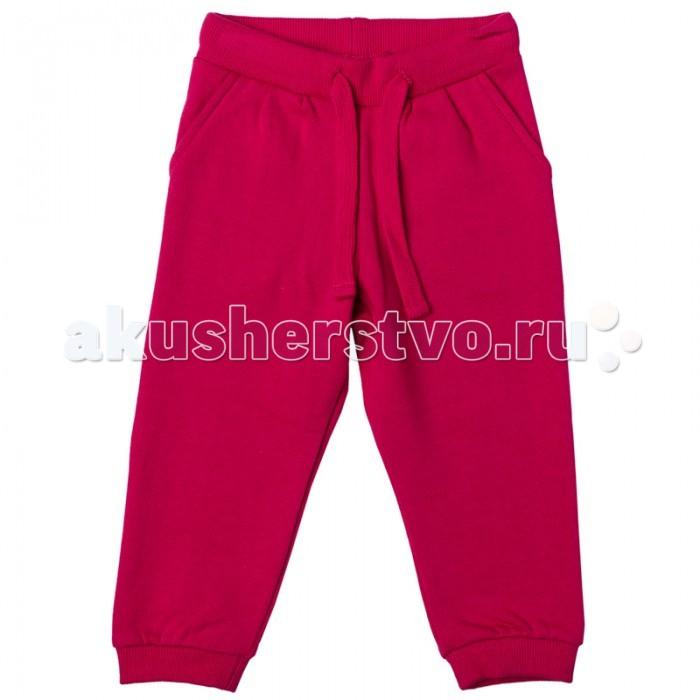 Брюки, джинсы и штанишки Playtoday Брюки для девочки Папина дочка 178012 брюки джинсы и штанишки playtoday джинсы для девочки фруктовый лед 172169