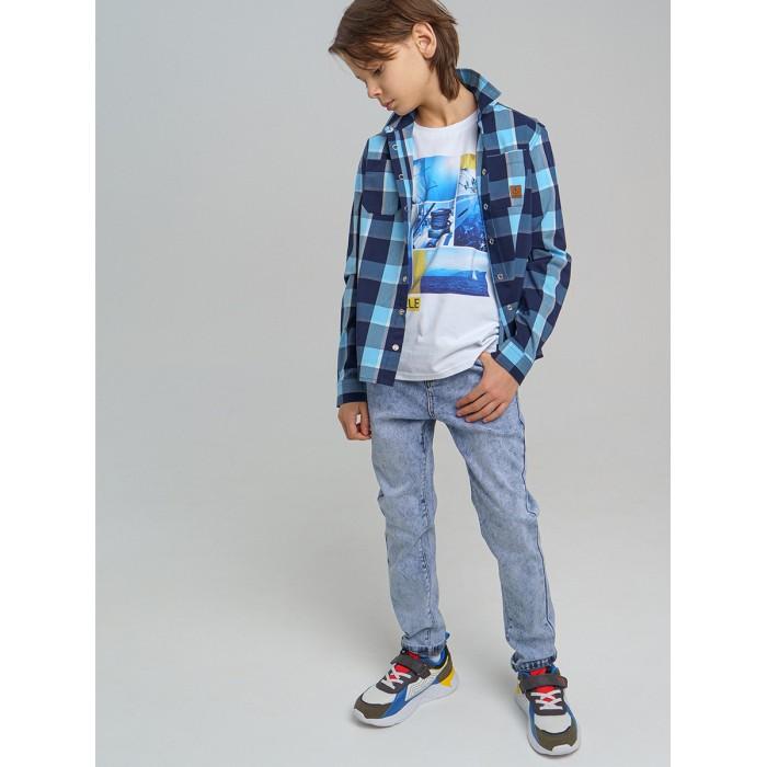 Брюки и джинсы Playtoday Брюки джинсовые для мальчика 12111564