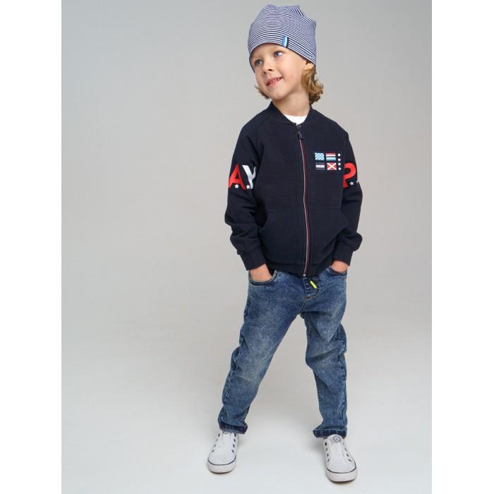 Брюки и джинсы Playtoday Брюки джинсовые для мальчика 12112529