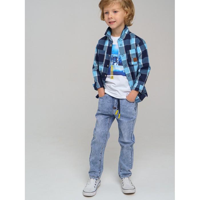 Брюки и джинсы Playtoday Брюки джинсовые для мальчика 12112564