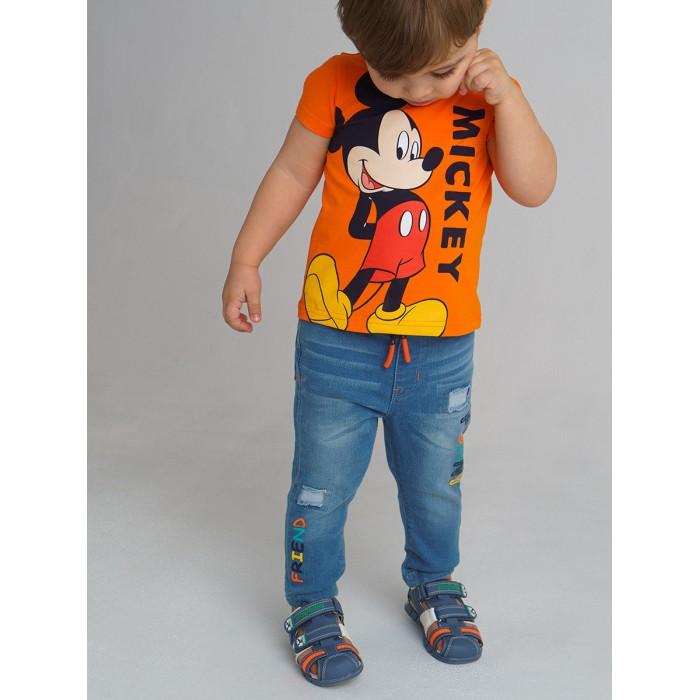 Брюки и джинсы Playtoday Брюки джинсовые для мальчика 12113332