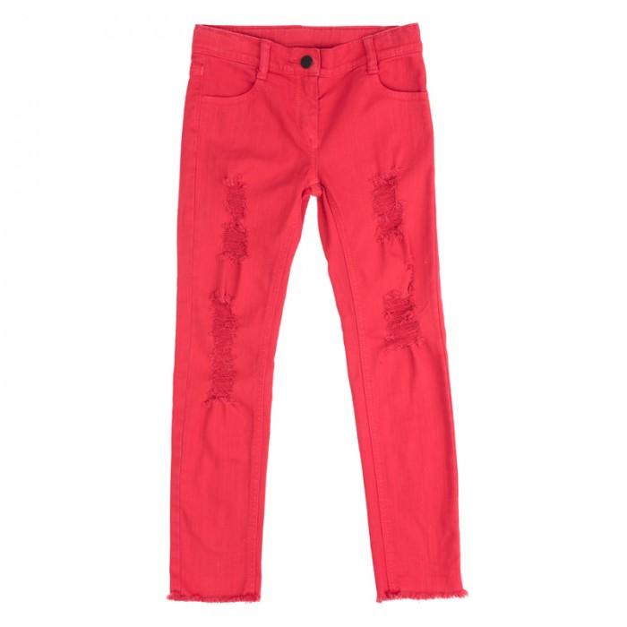 Детская одежда , Брюки, джинсы и штанишки Playtoday Брюки текстильные для девочек для девочек Рок-принцесса 182010 арт: 451239 -  Брюки, джинсы и штанишки