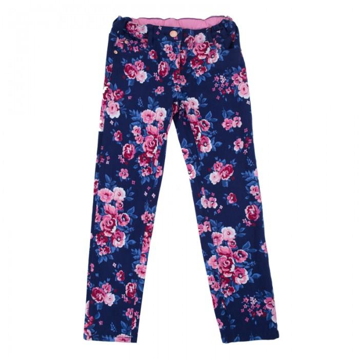 Детская одежда , Брюки, джинсы и штанишки Playtoday Брюки текстильные для девочек Утро в Париже 182061 арт: 453779 -  Брюки, джинсы и штанишки