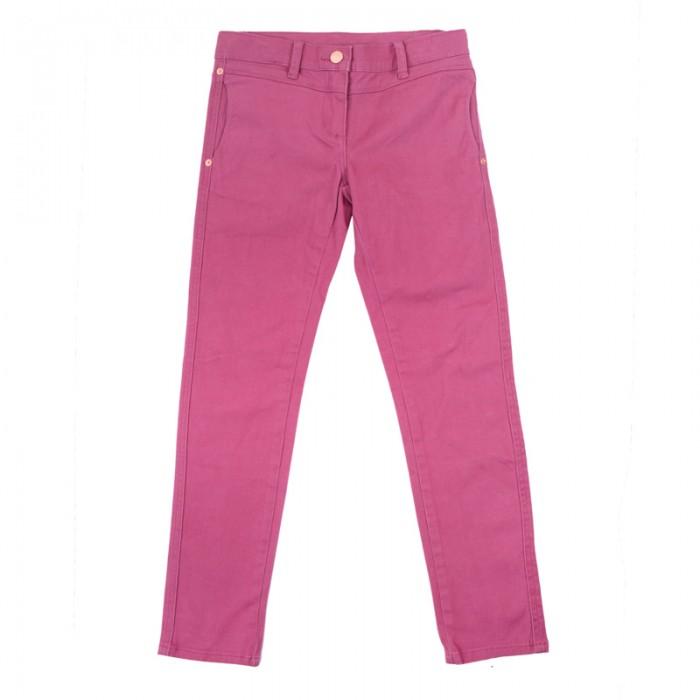 Брюки, джинсы и штанишки Playtoday Брюки текстильные для девочек Утро в Париже 182062 аксессуары playtoday заколка для волос для девочек 4 шт утро в париже 182737