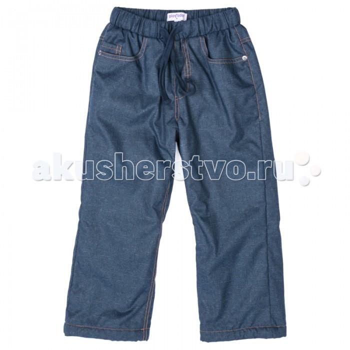 Детская одежда , Утепленные комбинезоны и комплекты Playtoday Брюки текстильные для мальчиков Драйв 371055 арт: 368123 -  Утепленные комбинезоны и комплекты