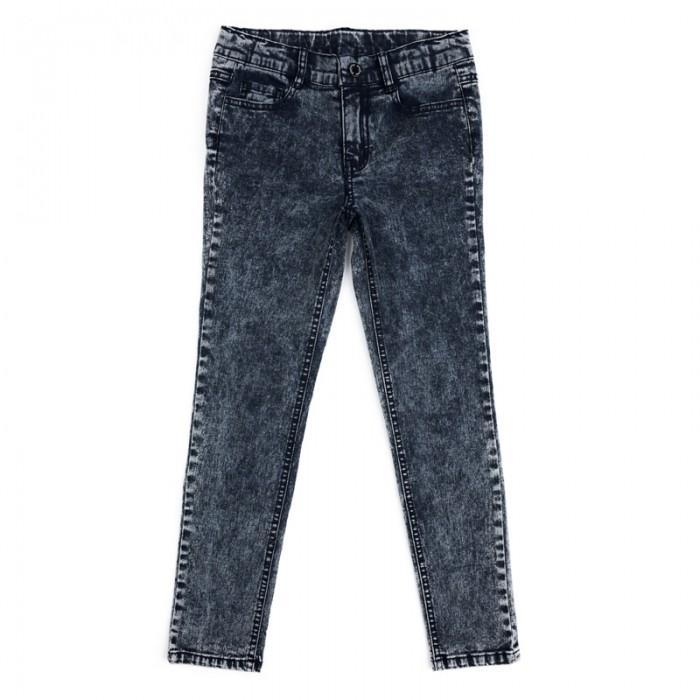 Детская одежда , Брюки, джинсы и штанишки Playtoday Брюки текстильные джинсовые для девочек Рок-принцесса 182008 арт: 451174 -  Брюки, джинсы и штанишки