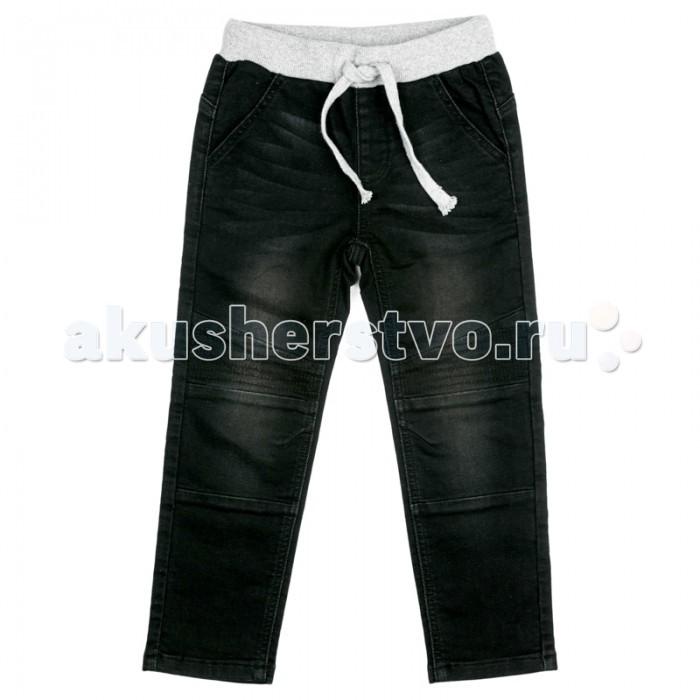 Детская одежда , Брюки, джинсы и штанишки Playtoday Брюки текстильные джинсовые для мальчиков Арктика арт: 364757 -  Брюки, джинсы и штанишки