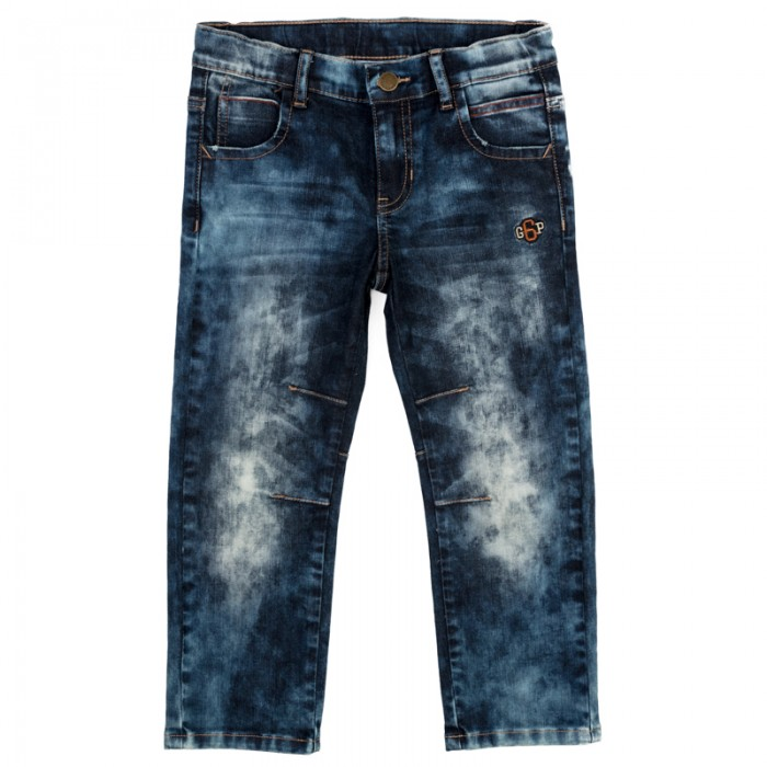 Брюки и джинсы, Playtoday Брюки текстильные джинсовые для мальчиков Драйв 371064  - купить со скидкой