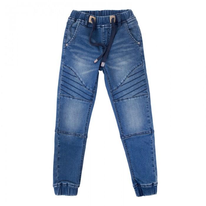 Детская одежда , Брюки, джинсы и штанишки Playtoday Брюки текстильные джинсовые для мальчиков Футбольный клуб 181008 арт: 457521 -  Брюки, джинсы и штанишки