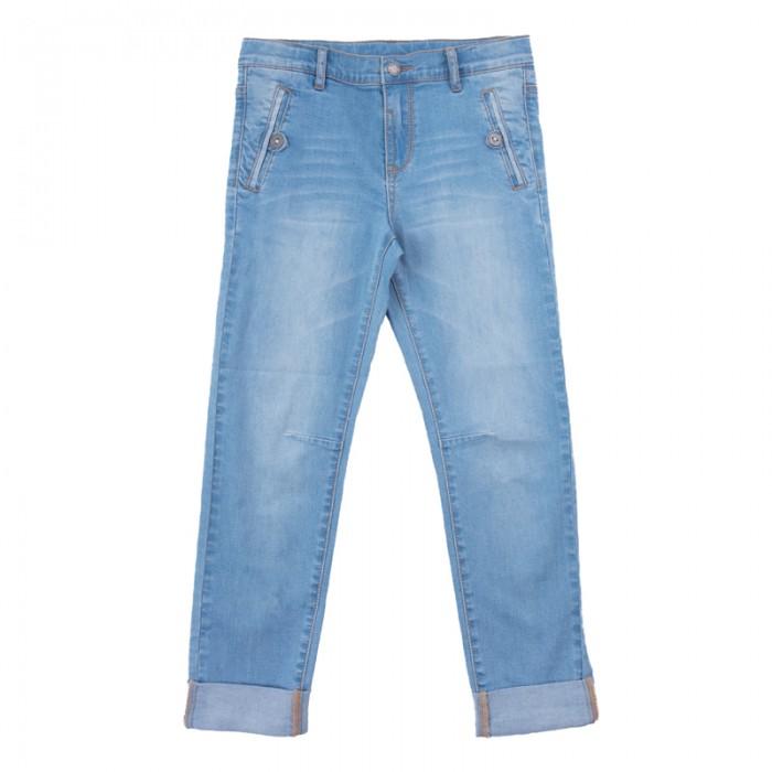 Детская одежда , Брюки, джинсы и штанишки Playtoday Брюки текстильные джинсовые для мальчиков Футбольный клуб 181009 арт: 457526 -  Брюки, джинсы и штанишки