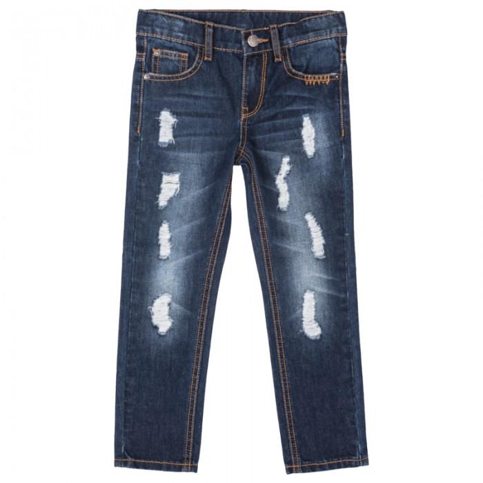 Брюки, джинсы и штанишки Playtoday Брюки текстильные джинсовые для мальчиков Пульс Лондона 371014 джинсы playtoday брюки текстильные джинсовые