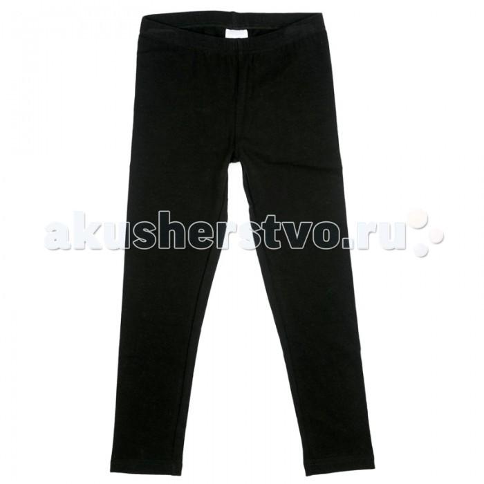 Брюки, джинсы и штанишки Playtoday Брюки трикотажные для девочек (леггинсы) Первая победа 379010
