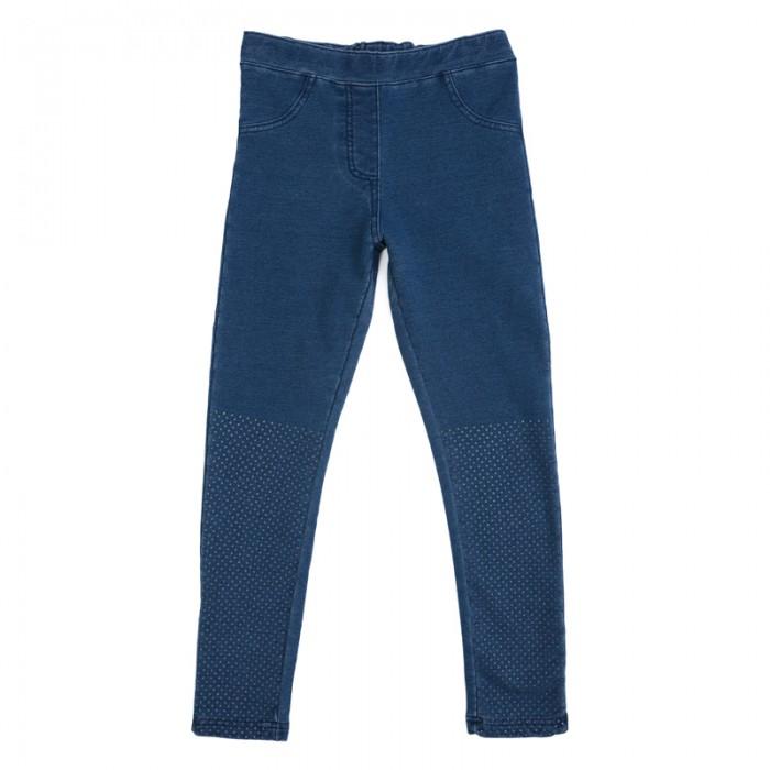 Детская одежда , Брюки, джинсы и штанишки Playtoday Брюки трикотажные для девочек (леггинсы) Рок-принцесса 182014 арт: 451359 -  Брюки, джинсы и штанишки