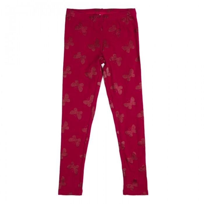 Брюки, джинсы и штанишки Playtoday Брюки трикотажные для девочек (леггинсы) Утро в Париже 182065
