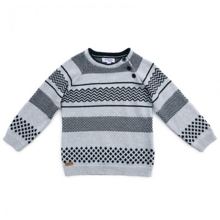 Джемперы, свитера, пуловеры Playtoday Джемпер детский трикотажный для мальчиков Первый друг 377056 джемперы cudgi джемпер