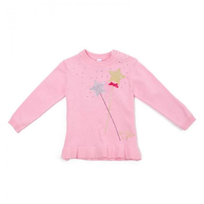 Купить Джемперы и кардиганы, Playtoday Джемпер для девочек Сверкающий шик 388109