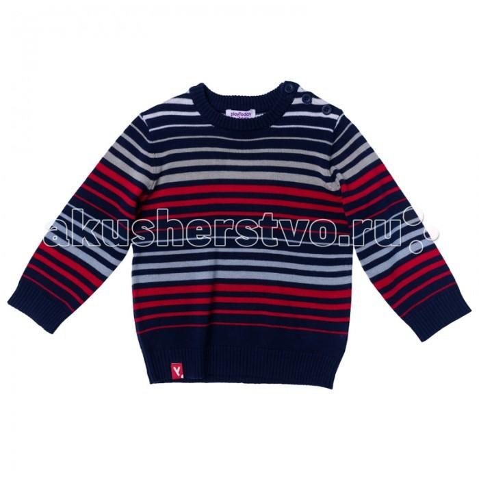 Детская одежда , Джемперы, свитера, пуловеры Playtoday Джемпер для мальчика Первый друг 177005 арт: 349975 -  Джемперы, свитера, пуловеры