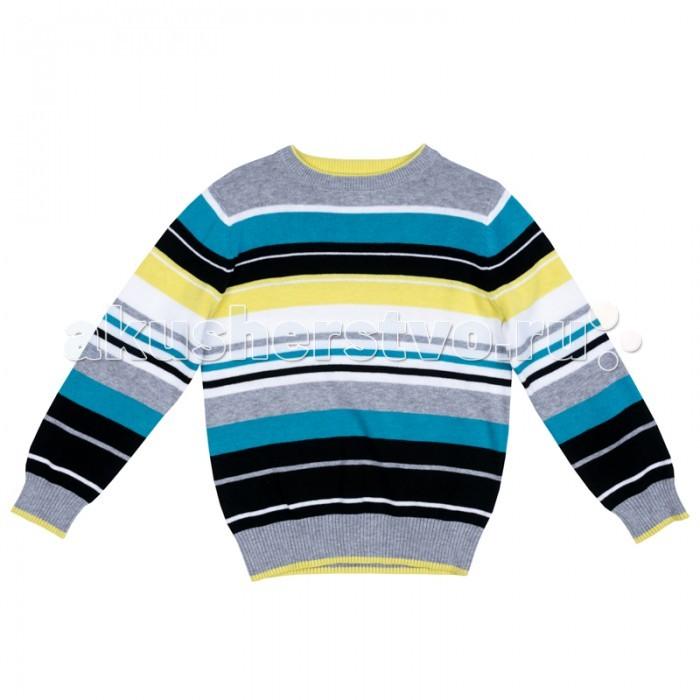 Детская одежда , Джемперы, свитера, пуловеры Playtoday Джемпер трикотажный для мальчиков Арктика 371107 арт: 365467 -  Джемперы, свитера, пуловеры