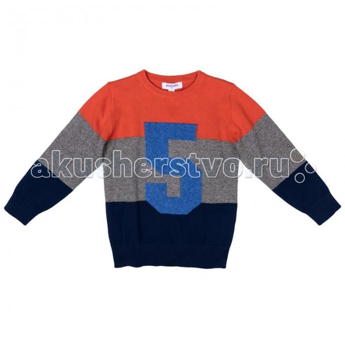 Детская одежда , Джемперы, свитера, пуловеры Playtoday Джемпер трикотажный для мальчиков Драйв 371057 арт: 368173 -  Джемперы, свитера, пуловеры