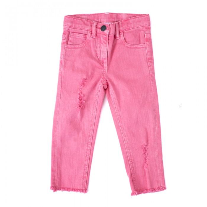 Брюки, джинсы и штанишки Playtoday Джинсы для девочек Забавный кролик 188011