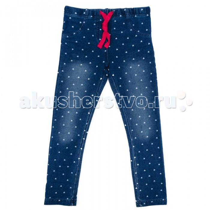 Брюки, джинсы и штанишки Playtoday Джинсы для девочки Капель 172013