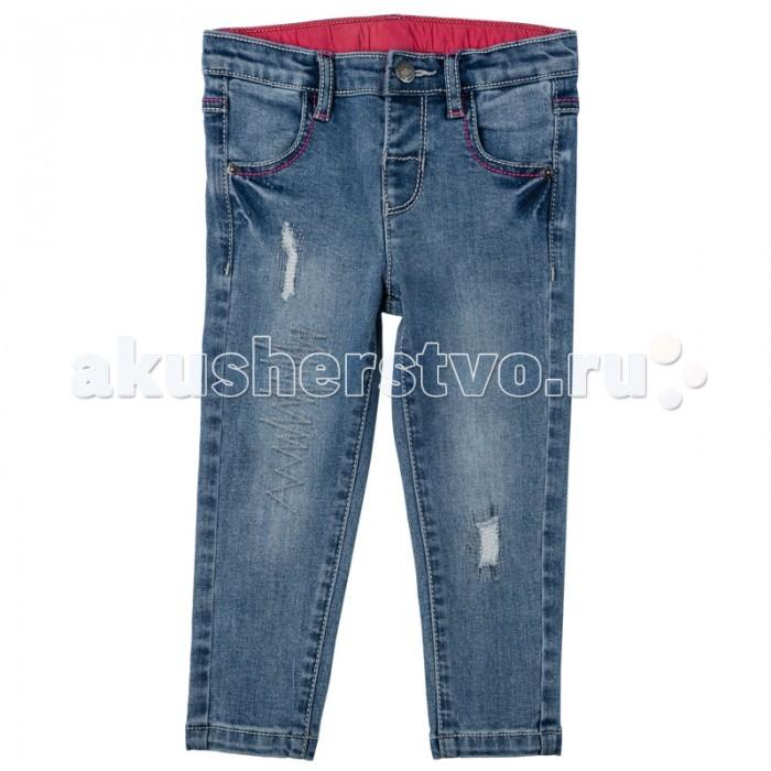 Брюки, джинсы и штанишки Playtoday Джинсы для девочки Папина дочка 178008 брюки джинсы и штанишки playtoday джинсы для девочки фруктовый лед 172169