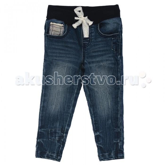 Брюки, джинсы и штанишки Playtoday Джинсы для девочки Веселая улитка 178054 брюки джинсы и штанишки playtoday джинсы для девочки фруктовый лед 172169