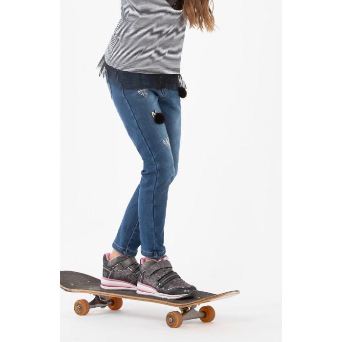 Картинка для Брюки и джинсы Playtoday Джинсы для девочки Art free 392091/394091