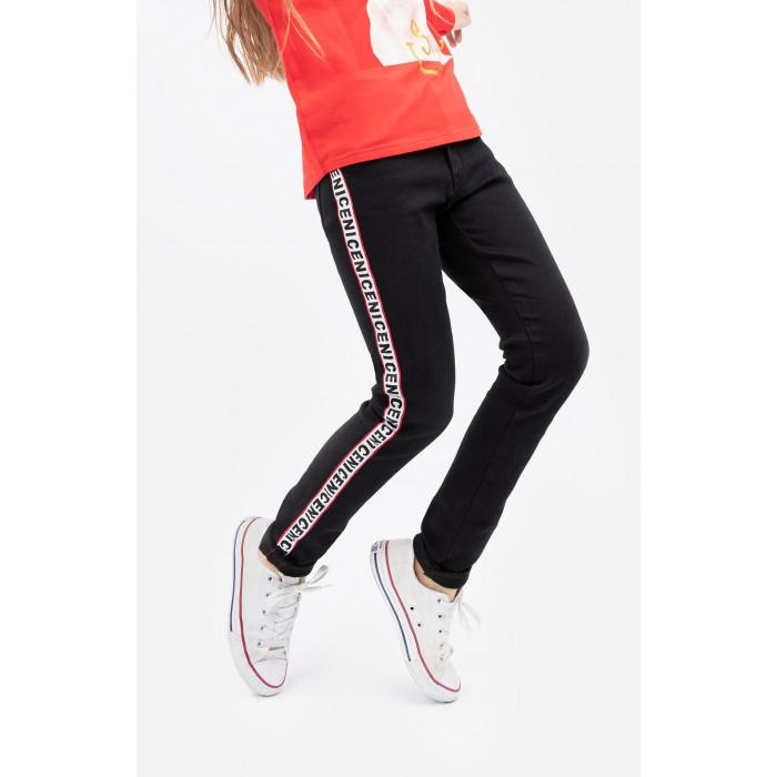 Картинка для Брюки и джинсы Playtoday Джинсы для девочки Art free 394081