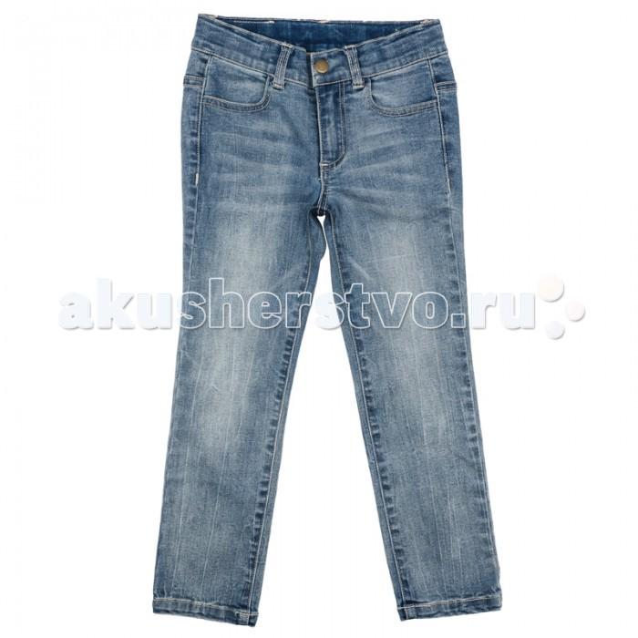 Детская одежда , Брюки, джинсы и штанишки Playtoday Джинсы для девочки Фруктовый лед 172155 арт: 358655 -  Брюки, джинсы и штанишки