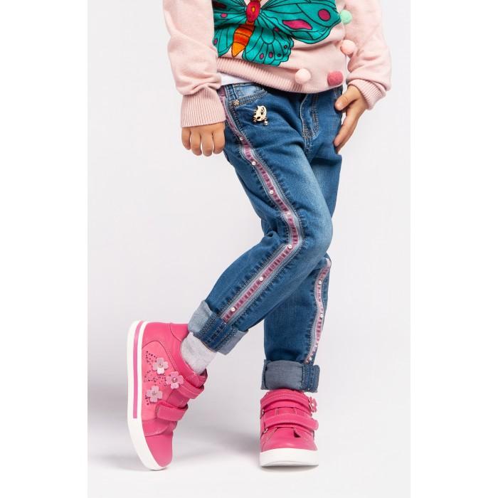 Купить Брюки и джинсы, Playtoday Джинсы для девочки Magic forest 392047