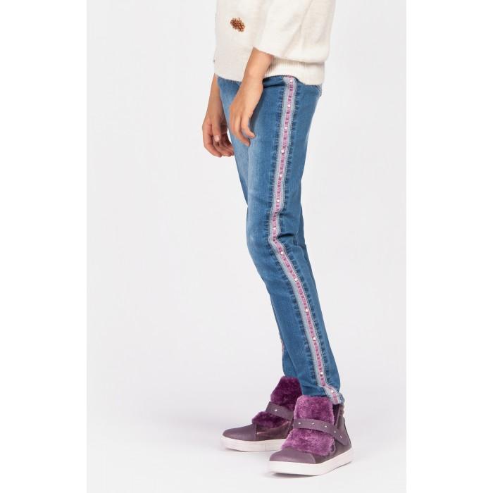 Купить Брюки и джинсы, Playtoday Джинсы для девочки Magic forest 394047