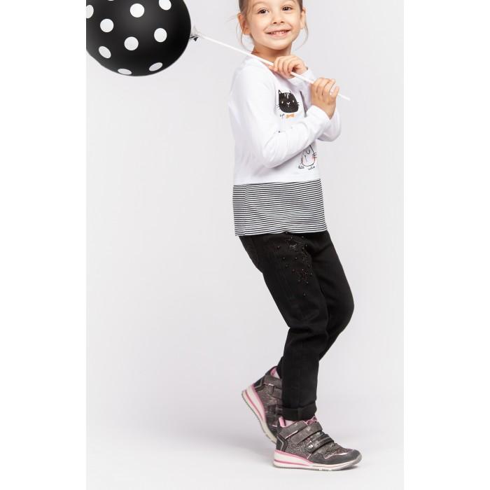 Купить Брюки и джинсы, Playtoday Джинсы для девочки Shining cat 392027/394027