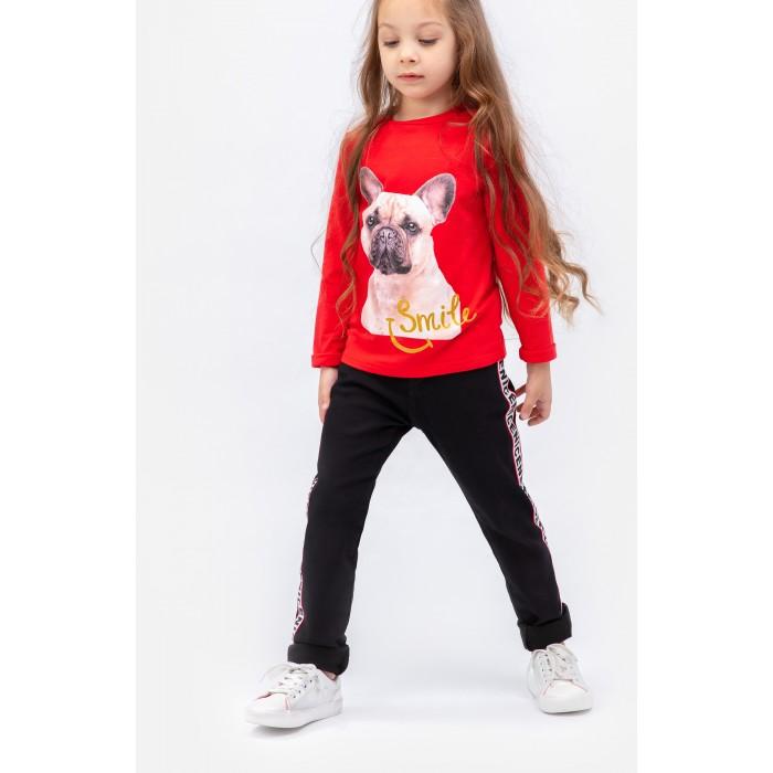 Купить Брюки и джинсы, Playtoday Джинсы для девочки Snow College 392018