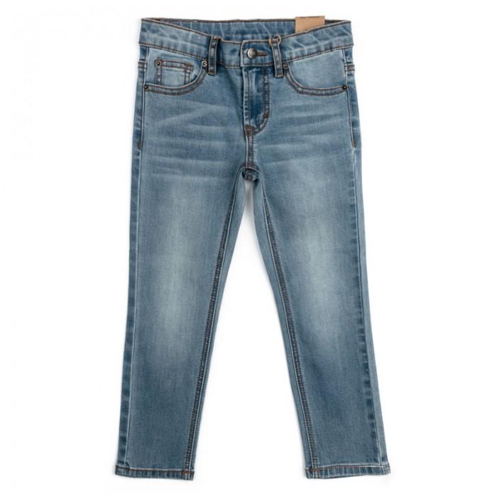 Детская одежда , Брюки, джинсы и штанишки Playtoday Джинсы для мальчика Летнее приключение 181154 арт: 458506 -  Брюки, джинсы и штанишки