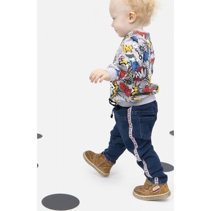 Купить Брюки и джинсы, Playtoday Джинсы для мальчика Racer-boy 397010
