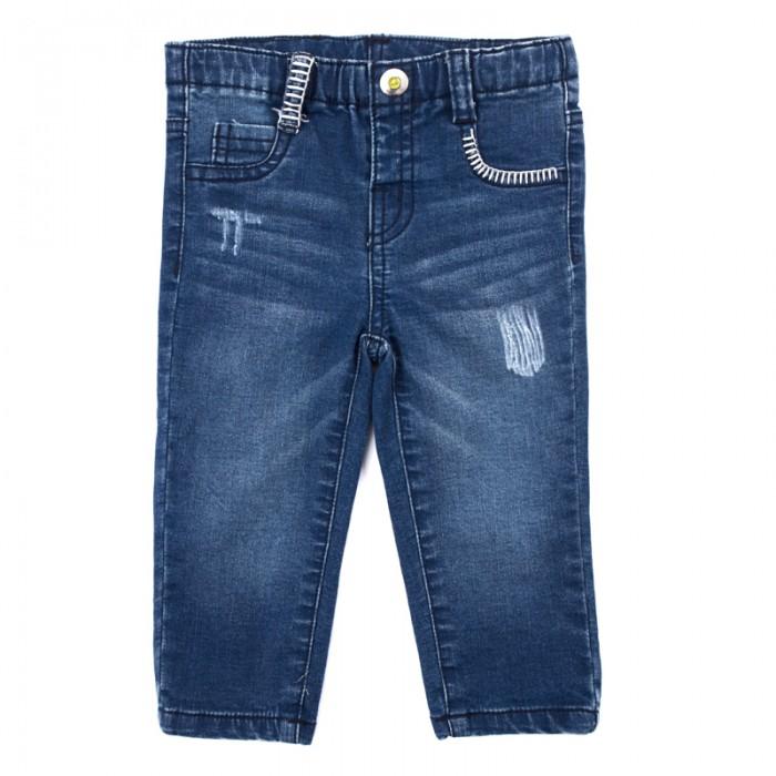 Брюки, джинсы и штанишки Playtoday Джинсы для мальчиков Маленький динозаврик 187806 одежда для детей