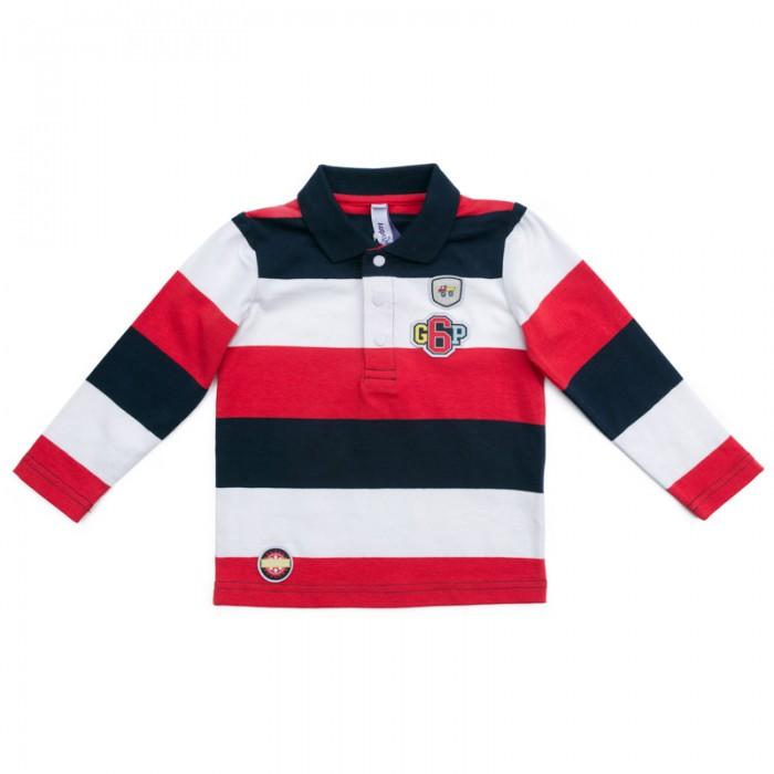 Купить Водолазки и лонгсливы, Playtoday Лонгслив детский трикотажный для мальчиков (футболка с длинным рукавом) Первый друг 377070