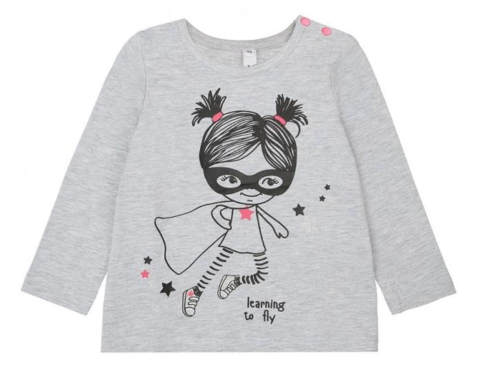 Купить Водолазки и лонгсливы, Playtoday Фуфайка для девочек Super Girl baby