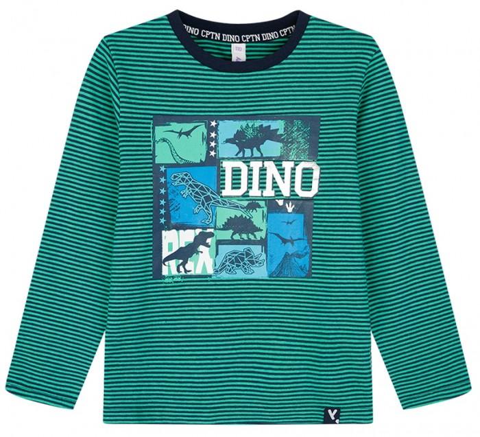 Картинка для Водолазки и лонгсливы Playtoday Фуфайка для мальчика Captain Dino kids boys 32012115