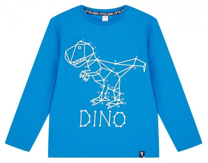 Картинка для Водолазки и лонгсливы Playtoday Фуфайка для мальчика Captain Dino kids boys 32012119