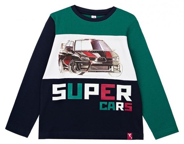 Купить Водолазки и лонгсливы, Playtoday Фуфайка для мальчика Super cars kids boys 32012014