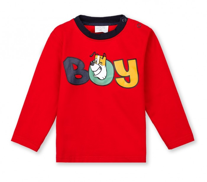 Купить Водолазки и лонгсливы, Playtoday Фуфайка для мальчиков Forest camping baby 397074