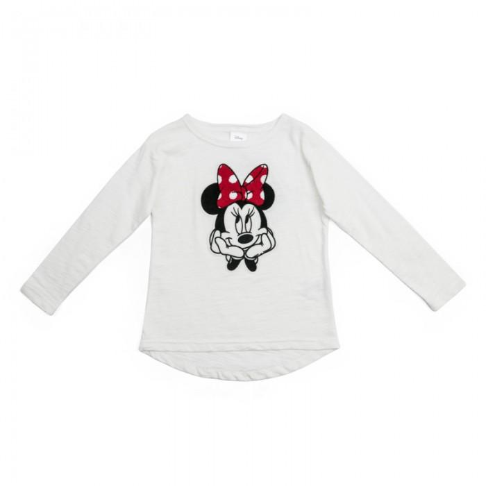 Водолазки и лонгсливы Playtoday Футболка трикотажная для девочек (футболка с длинным рукавом) Рок-принцесса 682002 футболка трикотажная карита экрю
